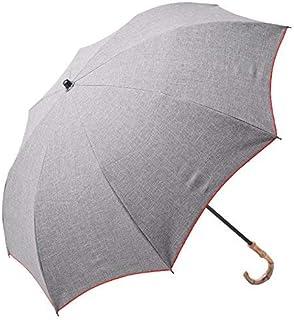 100%完全遮光 99%ではダメなんです! 【Rose Blanc】 日傘 晴雨兼用 UVカット 1級遮光 撥水 ブランド おしゃれ レディース かわいい 母の日 2段折りショート(傘袋) 50cm プレーン ダンガリー 4pl-d
