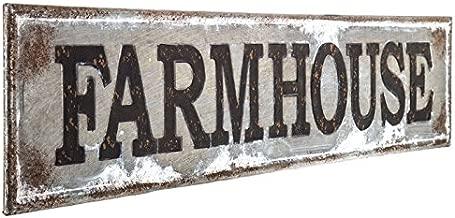 Best farmhouse sign metal Reviews