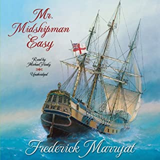 Mr. Midshipman Easy audiobook cover art