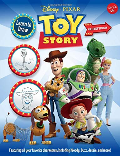 Learn to Draw Disney/Pixar Toy Story: Featuring All Your Favorite Characters, Including Woody, Buzz, Jessie, and More!
