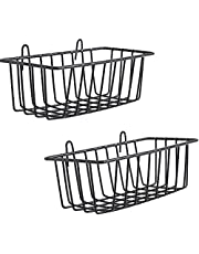 WUZILIN Estante para diseño Parrilla de pared de metal, Repisa de diseño Foto de rejilla de pared utilizada para celosía Foto de pared 23.5x12x8cm, Negro