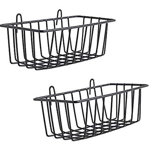 WUZILIN Estante para diseño Parrilla de pared de metal, Repisa de diseño...
