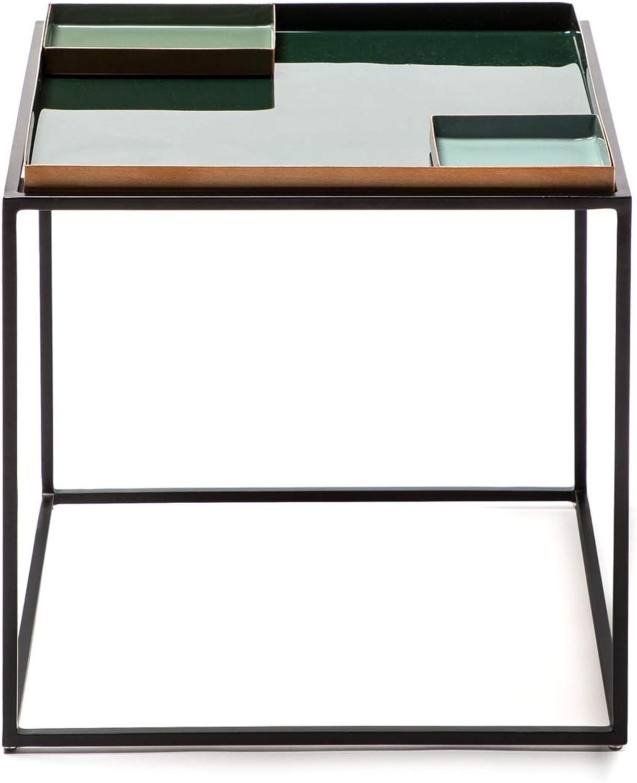 diseño simple y generoso Kayoom Side Table Famosa 460 Darkverde Darkverde Darkverde Light verde  diseño único