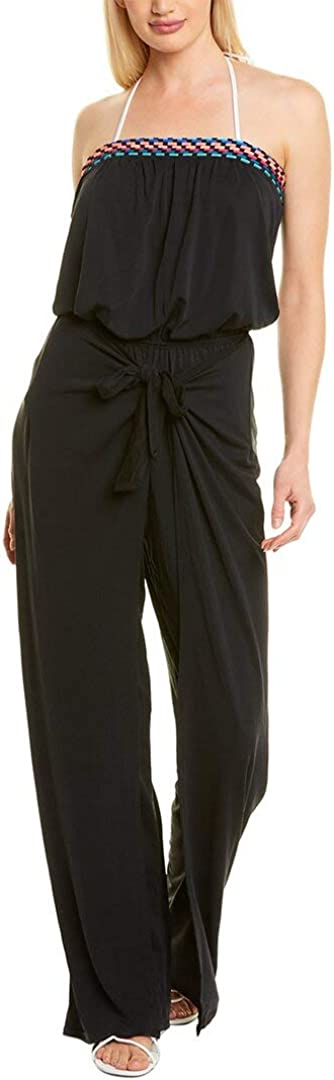 La Blanca Women's Standard Strapless Jumpsuit Swimsuit Cover Up