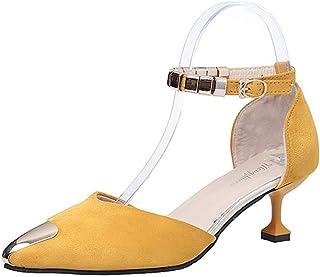 BalaMasa Womens ASL06743 Pu Heeled Sandals