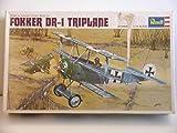 Revell Models---1/72 Scale Vintage Kit of a WW I German Fokker Dr-1 Triplane---Plastic Model Kit