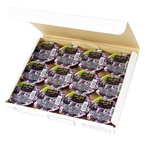 【九州旬食館】 日本の果実 福岡県産 ブルーベリー ゼリー 155g× 12個 詰め合わせ セット