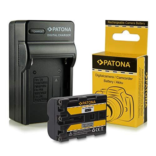 Cargador + Batería NP-FM500H para Sony Alpha 57 SLT-A57 | 58 SLT-A58...