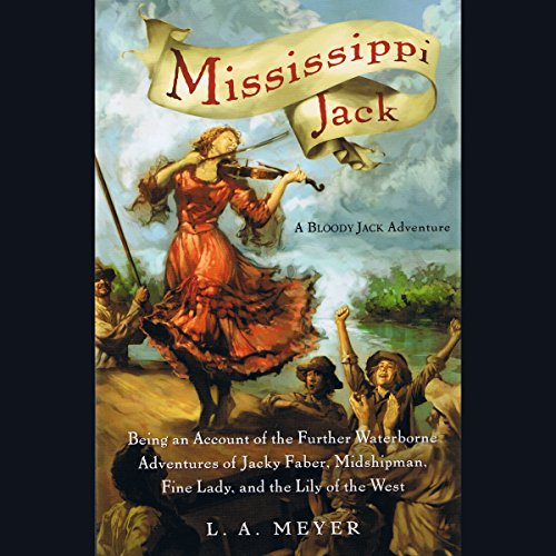 Mississippi Jack audiobook cover art