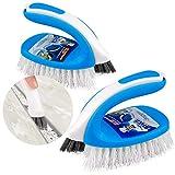 Mr. Siga 2in 1multi-purpose scrub Brush, confezione da 2