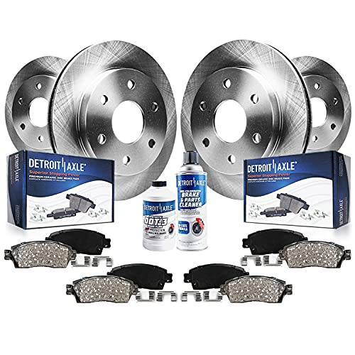 Detroit Axle - Front 338mm and Rear Disc Rotors...