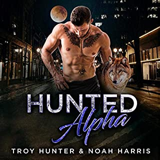 Hunted Alpha: A Gay Transgender Romance  audiobook cover art