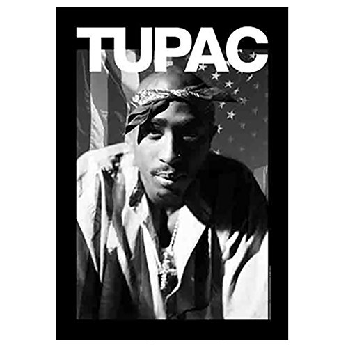 Tupac Shakur Head On Photo Tapestry Cloth Poster Flag Wall Banner New 30