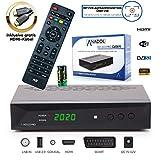 Anadol HD 222 Pro - PVR Aufnahmefunktion, Timeshift, Multimedia - 1080P Digital HDTV Sat-Receiver fr Satellitenfernseher - Astra & Hotbird vorinstalliert - HDMI, SCART, USB, DVB-S/S2, HDMI Kabel