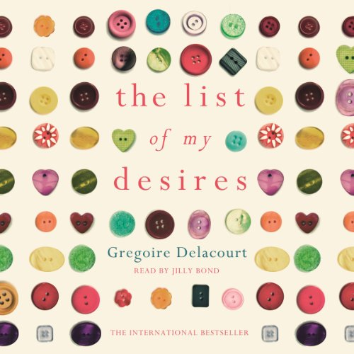 The List of My Desires audiobook cover art