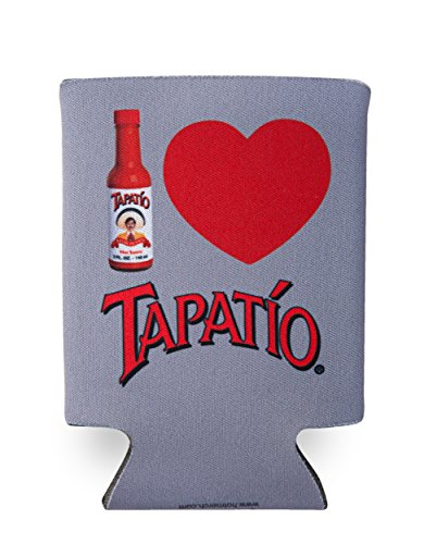 Tapatio, I LOVE TAPATIO, Officially Licensed Tapatio Hot Sauce Brand, CAN COOLER