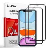 Lanhiem Panzerglas Schutzfolie fr iPhone 11 / iPhone XR, [Vollstndige Abdeckung] Hllenfreundlich, 9H...