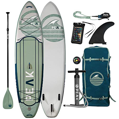 Peak Expedition Inflatable Stand Up Paddle Board...