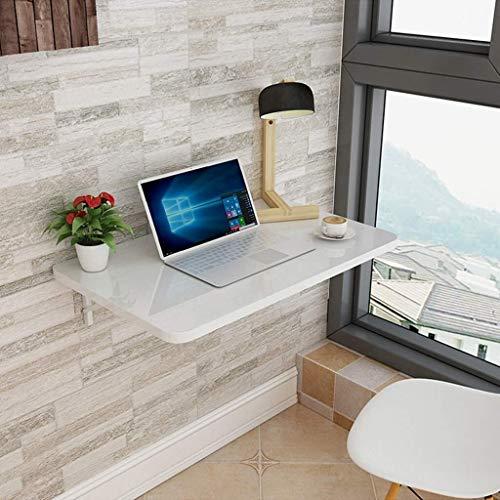 Aan de muur bevestigde vloer table Klaptafel kleine, aan de muur gemonteerde, studie tafel, ruimtebesparend, gemakkelijk te installeren, gemakkelijk te reinigen, een tafel om te dineren of op het werk