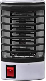 Electronic Insect Killer,LED Socket Electric Mosquito Fly Bug Insect Trap Killer Zapper Night Lamp (Black)