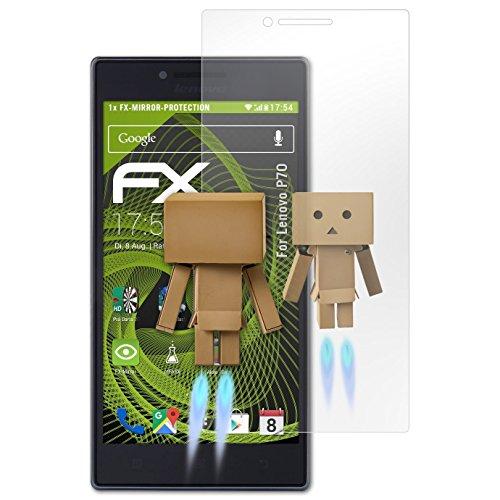 atFolix Bildschirmfolie kompatibel mit Lenovo P70 Spiegelfolie, Spiegeleffekt FX Schutzfolie