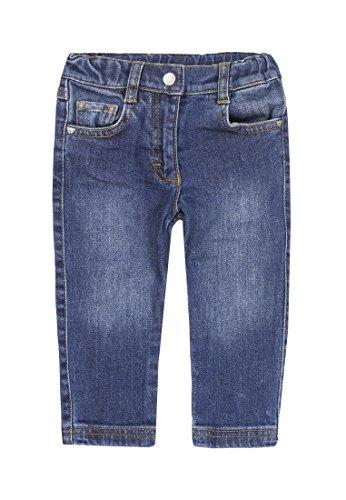Steiff Unisex - Baby Jeans 0006894 Hose, Blau, 74 (Herstellergröße: 74)
