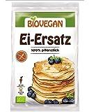 Sustituto Huevo Orgánico Sin Gluten 'Lote de 4 Bolsas x 5 g | 1 Bolsa Equivalente a 1 Huevo - Sustituto Huevo Vegano 100% Vegetal Con Harina De Lupino Fresco