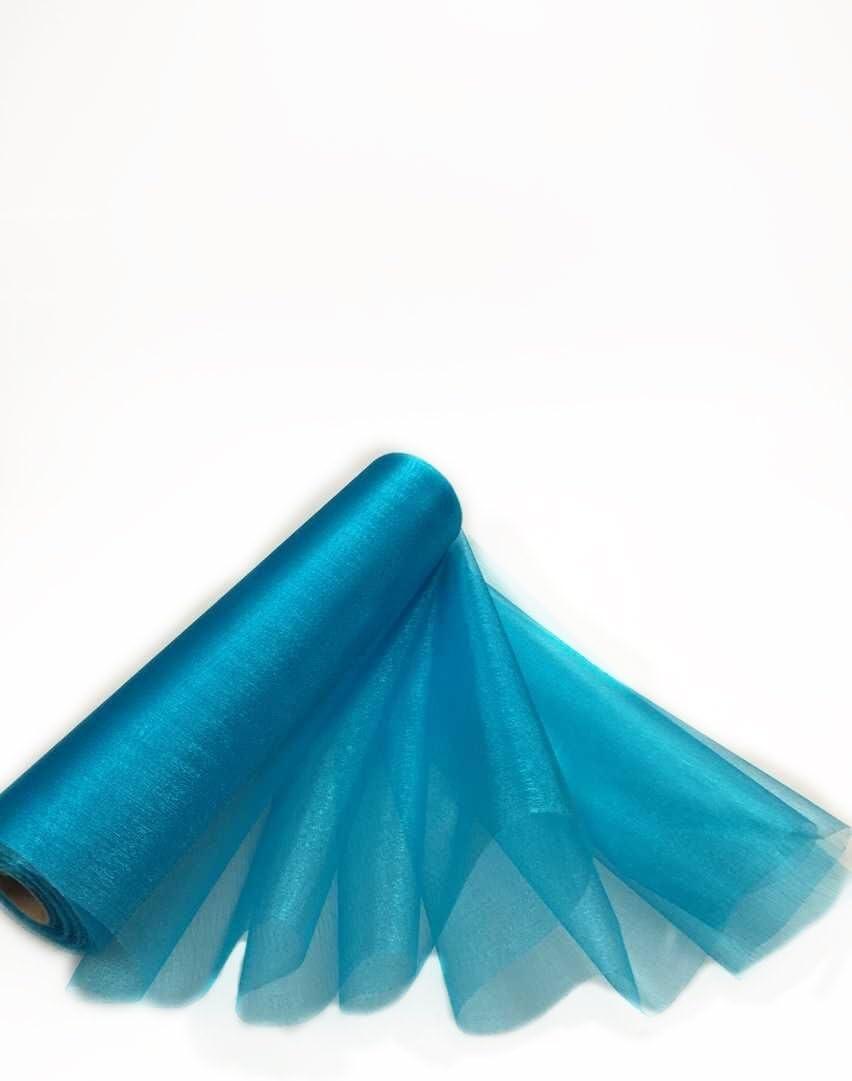 Comius Sharp 26M X 29CM Organza Rouleau Ceintures Tulle Tissu Chemin de Table Chaise Ceintures Bow Swag Sheer DIY Tissu pour Gift Wraps Party Event D/écoration De Mariage Pink