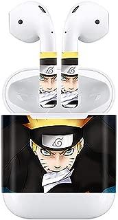 Bellagione Blood Comic Theme Airpod Sticker AirPod Accessories Portable&Protective PVC Skin Cover Apple Airpod (Naruto)