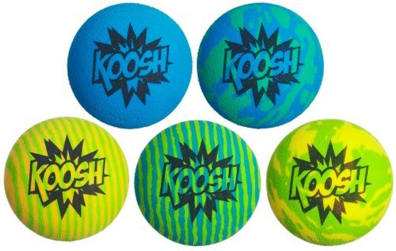 Koosh Ball Refill 5 Pack, bluee Green by Koosh