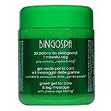 BINGOSPA Green Gel para piernas pesadas, venas varicosas, vasos frágiles - 500ml