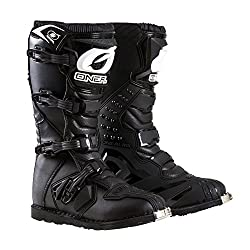 O'Neal Men's New Logo Rider Boot (Black, Size 11)