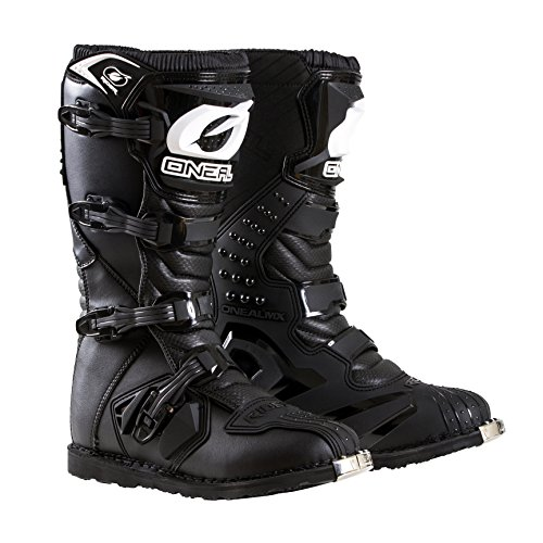 O'Neal 0325-111 Men's New Logo Rider Boot (Black, Size 11)