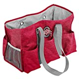 Logo Brands NCAA Ohio State Buckeyes Womens Multi-Pocketed Junior Caddy, Red, One Size