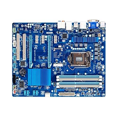 Fit For GIGABYTE GA-Z77-D3H Rev 1.X USB3.0 SATA III Z77-D3H Placa Base De La Computadora LGA 1155 DDR3 para La Placa Base De Escritorio Intel Z77