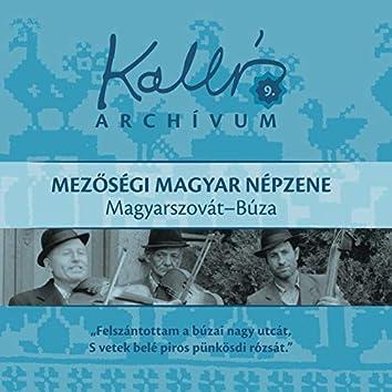 Kallós archívum, Vol. 9 (Mezőségi magyar népzene - Magyarszovát-Búza)