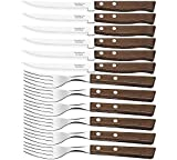 Tramontina 12 PIECE STEAK KNIFE AND FORK CUTLERY SET