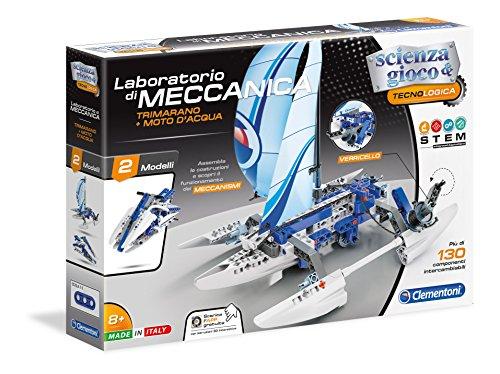Clementoni- Laboratorio Meccanica-Trimarano & Moto...