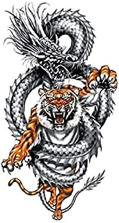 Tiger Tattoo Drachen Tattoo Festival Tattoo Party Tattoo XQB