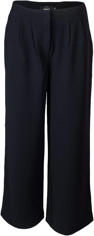 ONLY Women's 15162705BLACK Black Polyester Pants