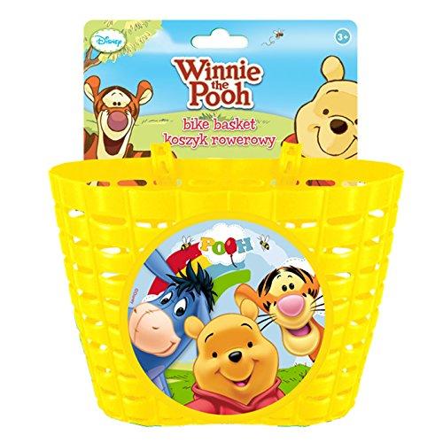 Disney Unisex Jugend Winnie The Pooh Fahrradkorb, Mehrfarbig, S