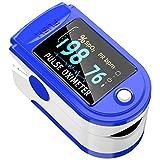 Pulse Oximeter Fingertip, Blood Oxygen Saturation Monitor...