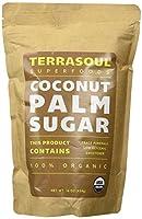 Terrasoul Superfoods Organic Coconut Sugar 450g スーパーフードオーガニックココナッツシュガー [並行輸入品]