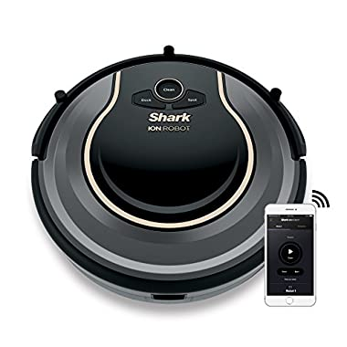 Shark ION ROBOT 750 Vacuum with Wi-Fi Connectivity + Voice Control, (RV750), Works with Alexa