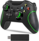 Xbox One Wireless Controller, Zamia Game Controller Gamepad 2.4GHZ Game Controller Compatible with Xbox One/One S/One X/One Series X/S /Elite/PC Windows 7/8/10 with Built-in Dual Vibration(black)