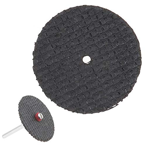 yanhuigang Superior performance Grinding Discs Cutting Disc Cut Off Wheel,32mm Fiberglass Reinforced Cutting Disc Cut Off Wheel Accessories Abrasive Tools for Rotary Tool Mini Drill