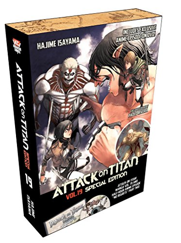 Attack on Titan 19 Special Edition w/DVD