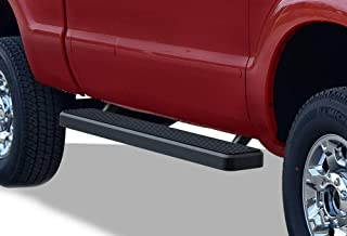 APS iBoard Running Boards 5 inches Black Custom Fit 1999-2016 Ford F250 F350 Super Duty Super Cab (Nerf Bars Side Steps Side Bars)