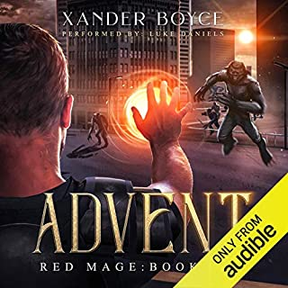Advent audiobook cover art
