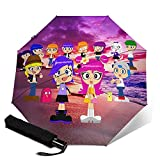 Hi Hi Puffy AmiYumi Portable Folding Windproof Umbrella...